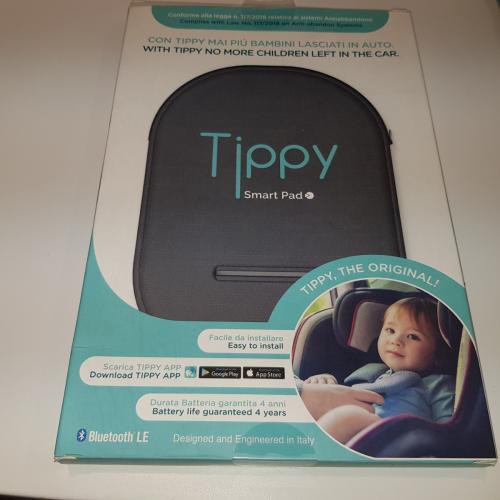 Dispositivo Antiabbandono Tippy Smart Pad Universale Per Seggiolino Auto