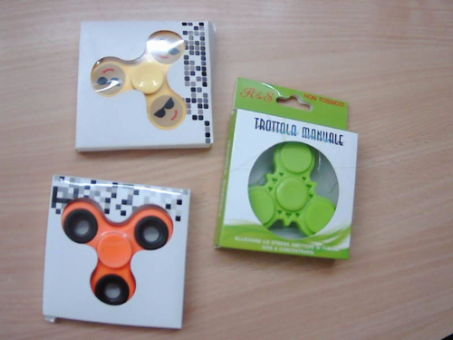 Trottola Spinner Manuale Antistress                  Nuovo