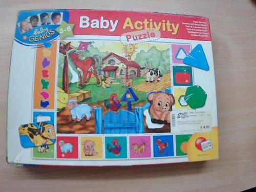 Baby Activity  Puzzle Allegra Fattoria         Lisciani Giochi